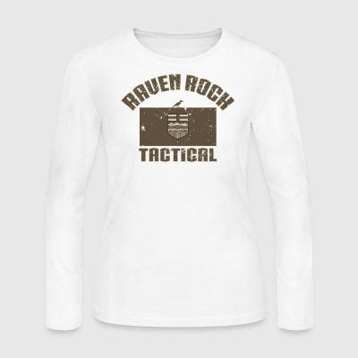 Raven Rock Alberta - Tactical Tan - Women's Long Sleeve Jersey T-Shirt