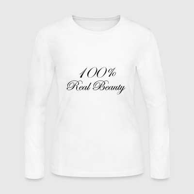 REAL BEAUTY - Women's Long Sleeve Jersey T-Shirt