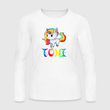 Toni Unicorn - Women's Long Sleeve Jersey T-Shirt