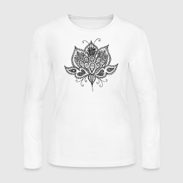 Lotus flower - Women's Long Sleeve Jersey T-Shirt