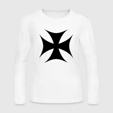 CROSS OF IRON - Women's Long Sleeve Jersey T-Shirt