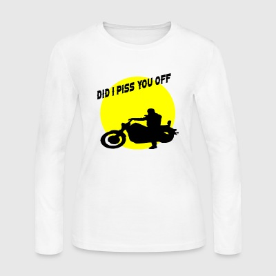 did i piss you off - Women's Long Sleeve Jersey T-Shirt