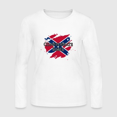 Confederate Rebel - Women's Long Sleeve Jersey T-Shirt