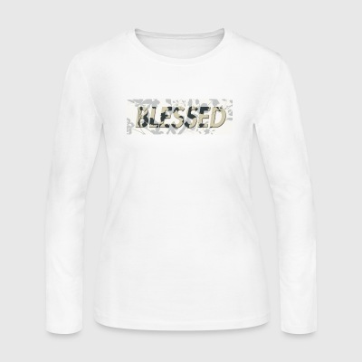 Blessed - Women's Long Sleeve Jersey T-Shirt