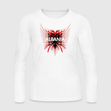 ALBANIA - Women's Long Sleeve Jersey T-Shirt