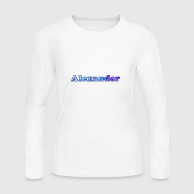 Alexander - Women's Long Sleeve Jersey T-Shirt