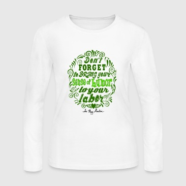 Humor Signature green dark - Women's Long Sleeve Jersey T-Shirt