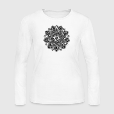 Mandala - Women's Long Sleeve Jersey T-Shirt
