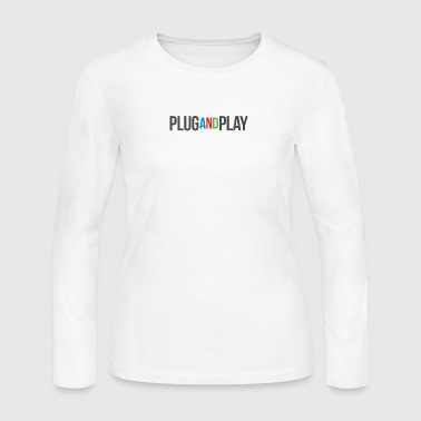 plug and play - Women's Long Sleeve Jersey T-Shirt