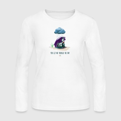 You Get Me Through the Day - Women's Long Sleeve Jersey T-Shirt