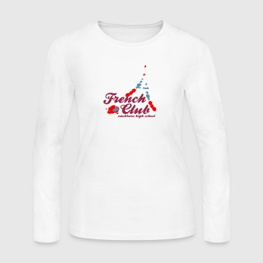 French Club washburn high school Design Placement - Women's Long Sleeve Jersey T-Shirt