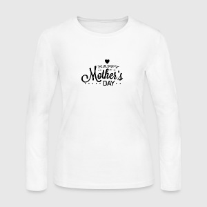 happy_mother-s_day_2 - Women's Long Sleeve Jersey T-Shirt