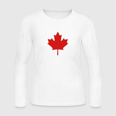 Canada maple - Women's Long Sleeve Jersey T-Shirt