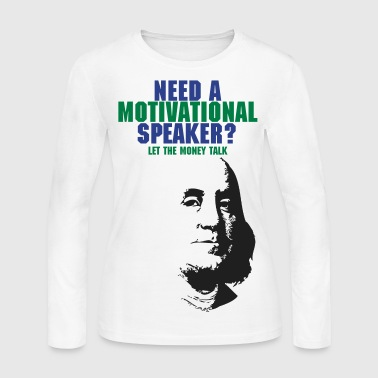 Benjamin Franklin - Women's Long Sleeve Jersey T-Shirt