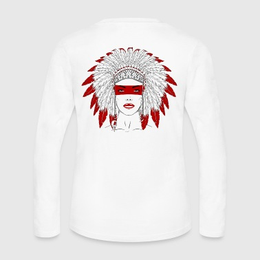 Native Girl - Women's Long Sleeve Jersey T-Shirt