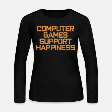 Computer Game computer games - Women's Long Sleeve Jersey T-Shirt