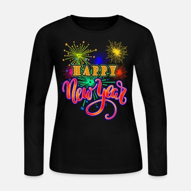 Year happy new year - Women's Jersey Longsleeve Shirt