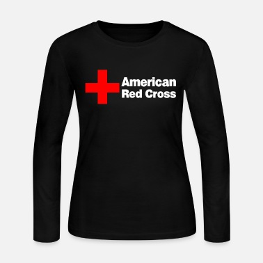 2c56015c AMERICAN RED CROSS - Women's Jersey Longsleeve Shirt