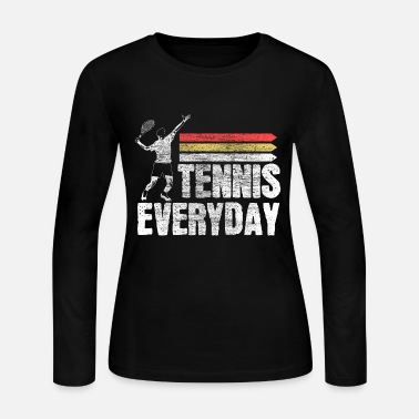Game Ball Tennis tennis player fitness Gift - Women's Jersey Longsleeve Shirt