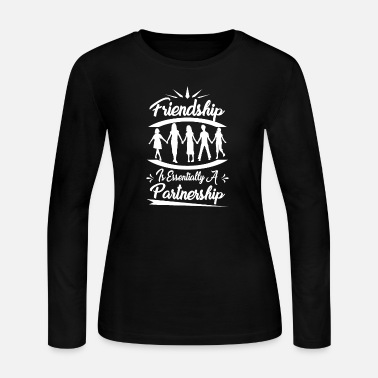 Friendship Friendship partnership gift idea - Women's Jersey Longsleeve Shirt