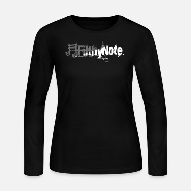 Note Clue filthy note - Women's Long Sleeve Jersey T-Shirt