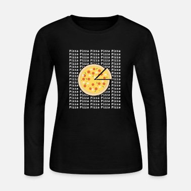 Pizza Pizza Pizza Pizza - Women's Long Sleeve Jersey T-Shirt