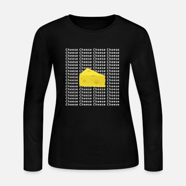 Cheese Cheese Cheese Cheese - Women's Long Sleeve Jersey T-Shirt
