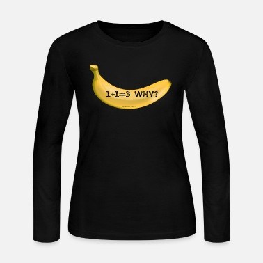 Banana banana bananas - Women's Long Sleeve Jersey T-Shirt