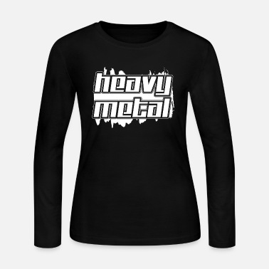 Heavy Metal heavy metal - Women's Long Sleeve Jersey T-Shirt