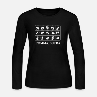 Kama Sutra Comma Sutra - Women's Long Sleeve Jersey T-Shirt