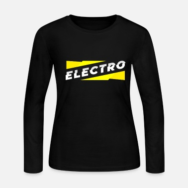 Electro Electro - Women's Long Sleeve Jersey T-Shirt