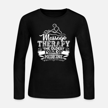 Form Massage Therapy Is Oldest Form - Women's Jersey Longsleeve Shirt