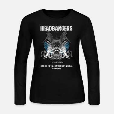 Headbanger We, The HeadBangers - Women's Long Sleeve Jersey T-Shirt