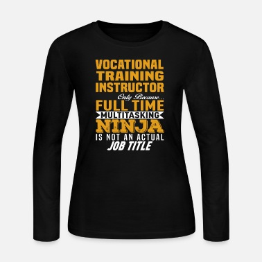 Vocational Training Instructor - Women's Jersey Longsleeve Shirt