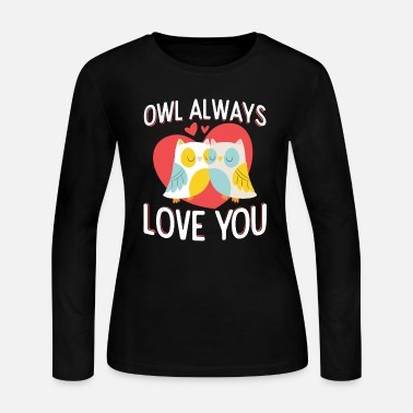 love owls - Women's Long Sleeve Jersey T-Shirt