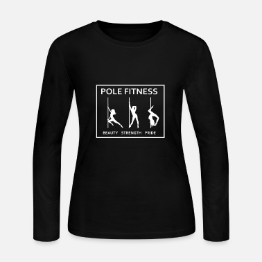 Pole Dance This Is My Pole Dancing Tshirt Design Pole Fitness - Women's Long Sleeve Jersey T-Shirt