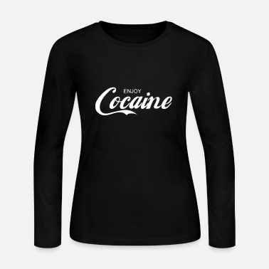 Cocaine enjoy COCAINE - Women's Jersey Longsleeve Shirt