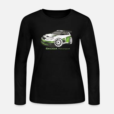 Motorsport Skoda Motorsport - Women's Long Sleeve Jersey T-Shirt