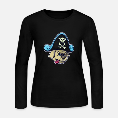 Pirate Pirate, pirate, pirate ship - Women's Long Sleeve Jersey T-Shirt