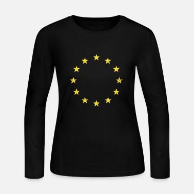 Eu Vintage EU - Women's Long Sleeve Jersey T-Shirt