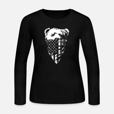 California California republic bear T - shirt - Women's Jersey Longsleeve Shirt