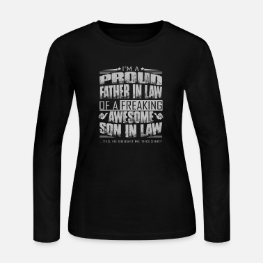 Father In Law father in law - Women's Jersey Longsleeve Shirt