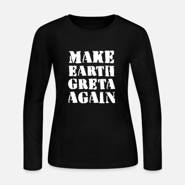 Strike fridays for future climate change school strike - Women's Jersey Longsleeve Shirt