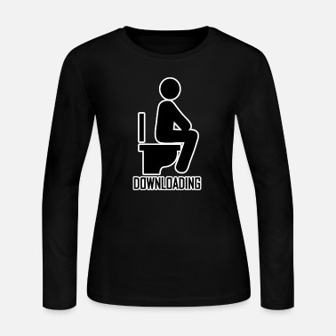 Download Downloading - Women's Jersey Longsleeve Shirt