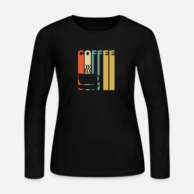 Coffee Vintage Coffee Graphic - Women's Jersey Longsleeve Shirt