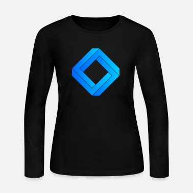 3d 3d - Women's Long Sleeve Jersey T-Shirt
