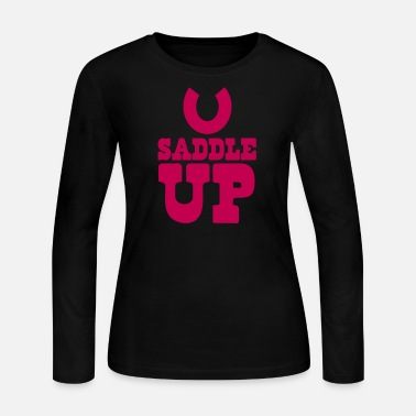 Saddle SADDLE UP - Women's Jersey Longsleeve Shirt