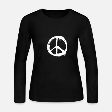 Sign Peace - Graffiti - Total Basics - Women's Jersey Longsleeve Shirt