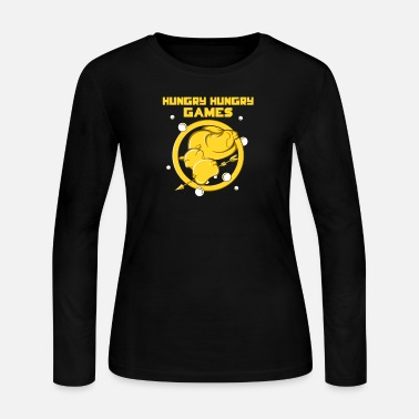 Hungry Hungry Hungry Games - Women's Jersey Longsleeve Shirt