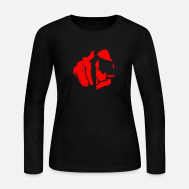 Punch Punch - Women's Long Sleeve Jersey T-Shirt